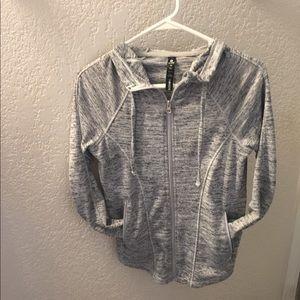 Grey Heathered Sports Jacket